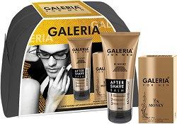Galeria for Men In Money - Подаръчен комплект за мъже с парфюм и балсам за след бръснене - продукт