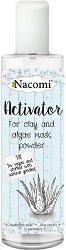Nacomi Activator for Clay and Algae Mask Powder - Активатор за глини и прахообразни маски с хиалуронова киселина - маска