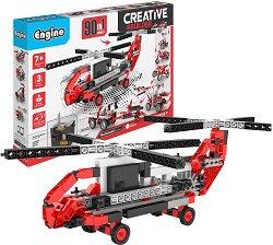 """Машини с електомотор - 90 в 1 - Детски конструктор от серията """"Inventor"""" -"""