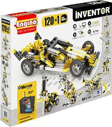 """Машини с електромотор - 120 в 1 - Детски конструктор от серията """"Inventor"""" -"""