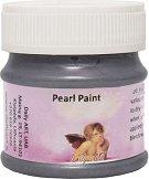 Акрилна боя с перлен ефект - Pearl paint - Бурканче от 50 и 100 ml