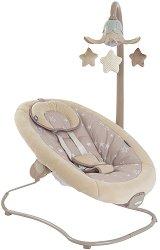Бебешки шезлонг - Stars - С вибрация, мелодии и светлини -