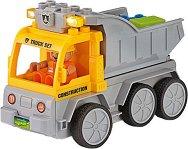 """Самосвал със светлинен ефект - Сглобяема играчка с дистанционно управление от серията """"Junior"""" -"""