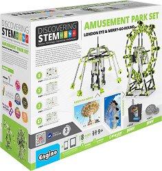 """Механика - Увеселителен парк - Детски конструктор от серията """"Discovering Stem"""" - играчка"""