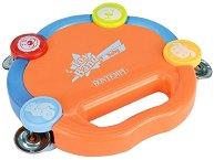 Дайре - Детски музикален инструмент със светлинен ефект -