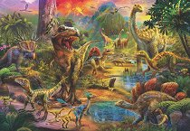 Светът на динозаврите - Жан Патрик (Jan Patrik) - пъзел