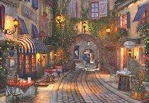 Уличка във Франция - пъзел