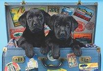 С кученца на път - Грег Кудифорд (Greg Cuddiford) - пъзел