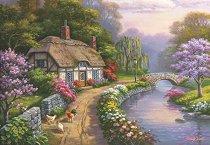 Къща сред върбите - Сунг Ким (Sung Kim) - пъзел
