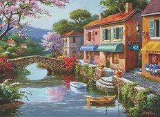 Старинни магазини - Сонг Ким (Sung Kim) - пъзел