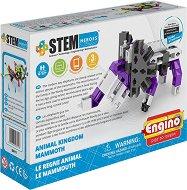 """Царството на животните - Мамут - Детски конструктор от серията """"Stem Heroes"""" -"""