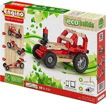"""Автомобили - 3 в 1 - Детски конструктор от серията """"Eco Builds"""" -"""
