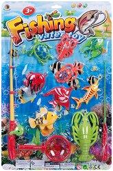 Комплект за риболов - Детска играчка - творчески комплект