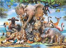 Усмивки от Африка - Хауърд Робинсън (Howard Robinson) - пъзел