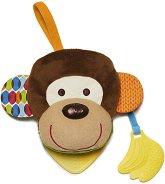 """Мека книжка - Маймунка - Детска играчка с дъвкалка от серията """"Bandana Buddies"""" -"""