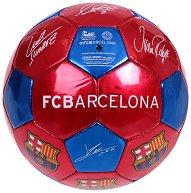 Футболна топка с автографи - ФК Барселона - продукт