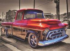 Червена кола - пъзел