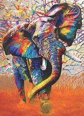Цветове от Африка - пъзел