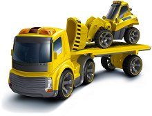 Автовоз и булдозер - Детска играчка с дистанционно управление -