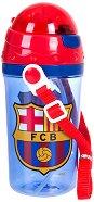 Детска бутилка със сламка - ФК Барселона - продукт