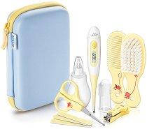 Бебешки тоалетни принадлежности - Комплект от 8 части - продукт