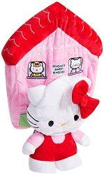 """Къщичката на Hello Kitty - Плюшена играчка със звуков ефек от серията """"Скришко"""" -"""