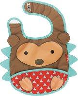 """Лигавник - Таралежът Хъдсън - За бебета над 6 месеца от серията """"Zoo"""" - прибори"""