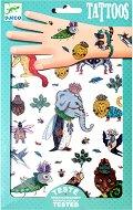 Временни татуировки - Странни животни