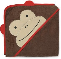 Хавлия за баня - Маймунката Маршъл - Размери 86 x 86 cm -
