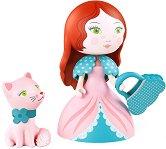 Принцеса Роза с котенце -