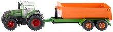 Трактор с ремарке - Fendt - играчка