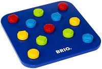 Зъбни колела - Дървена логическа играчка за сортиране - играчка