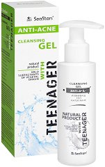Black Sea Stars Teenager Anti-Acne Cleansing Gel - гел