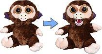 Feisty Pets - Маймунка - Плюшена играчка - количка