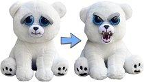Feisty Pets - Бяло мече - Плюшена играчка -