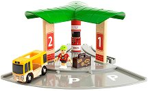 """Пътническа станция - Дървена играчка от серията """"Brio: Аксесоари"""" -"""