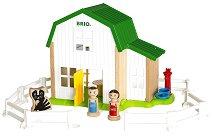 """Фермерска къща - Комплект от серията """"Brio:  Аксесоари"""" -"""