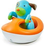 Кученцето Дарби с джет - Играчка за баня -