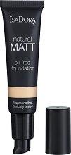 IsaDora Natural Matt Oil-Free Foundation - крем