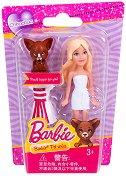 """Барби с кученце Чихуахуа - Мини кукла с аксесоар от серията """"Домашни любимци"""" -"""