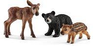 """Горски бебета животни - Комплект фигури от серията """"Животни от дивия свят"""" - фигури"""