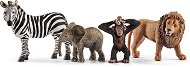 """Животните от Саваната - Комплект фигури от серията """"Животни от дивия свят"""" - фигури"""