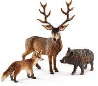 """Горски животни - Комплект фигури от серията """"Животни от дивия свят"""" -"""