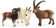 """Планински животни - Комплект фигури от серията """"Животни от дивия свят"""" - играчка"""