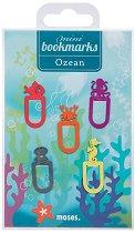 Мини метални отметки: Океан - Комплект от 5 броя -