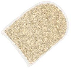 Масажна гъба за баня - ръкавица - От коноп и луфа - детски аксесоар