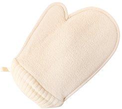 Масажна гъба за баня - ръкавица - От луфа -