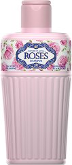 """Nature of Agiva Royal Roses Shampoo - Шампоан за изтощена коса от серията """"Royal Roses"""" - пяна"""