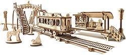 Трамвайна линия - Механичен 3D пъзел -