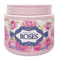 Nature of Agiva Royal Roses Hair Mask - сапун